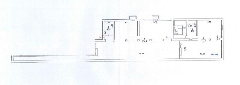 Аренда коммерческой недвижимости, 408м <sup>2</sup>, Москва, Симоновский Вал ул.,  36к1