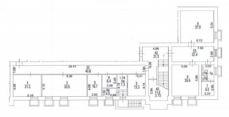 Аренда коммерческой недвижимости, 273м <sup>2</sup>, Москва, Руставели ул.,  10к3