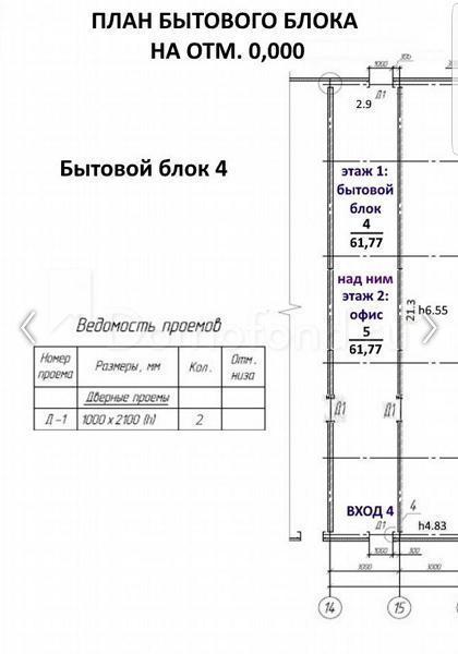 Аренда коммерческой недвижимости, 421м <sup>2</sup>, Лучинское