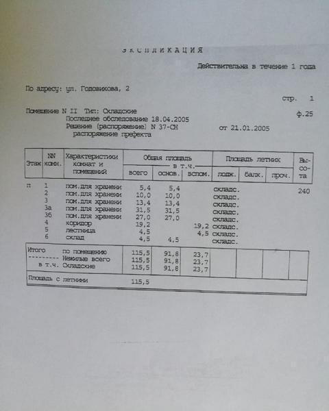 Аренда коммерческой недвижимости, 442м <sup>2</sup>, Москва, Годовикова ул.,  2