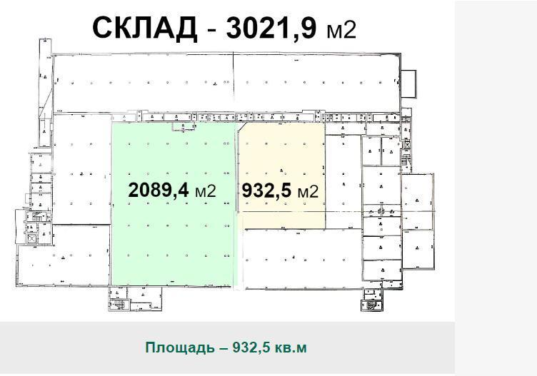 Аренда коммерческой недвижимости, 932м <sup>2</sup>, Хорлово, Ленина пл.