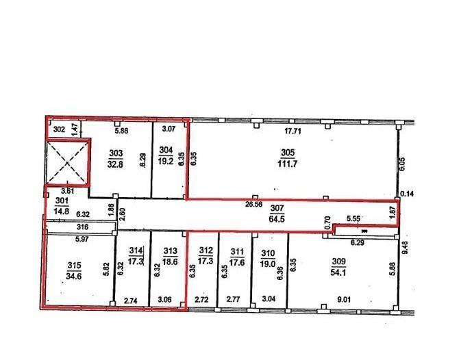 Продажа коммерческой недвижимости, 216м <sup>2</sup>, Фрязино, Заводской проезд,  3